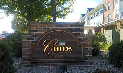 Chauncey Apartments, 1