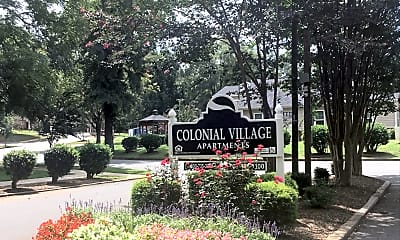Colonial Village Apartments, 1