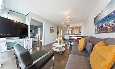 Living Room, 9195 Collins Ave 906, 0