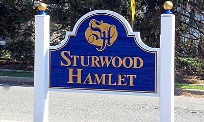 Community Signage, Sturwood Hamlet Apartments, 2