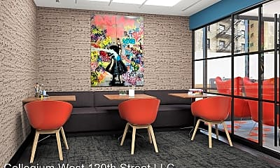 Living Room, 415 W 120th St, 2