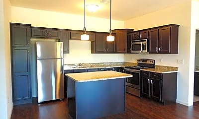 Kitchen, Holly Tree Apartments, 0
