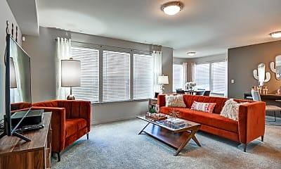 Living Room, Portico at Friars Creek, 1