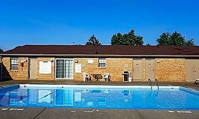 Pool, Riverwind Apartments, 0