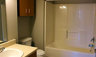 Bathroom, Pine Grove Apartments, 2