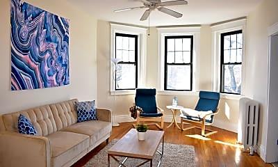 Living Room, 380 Riverway, 1