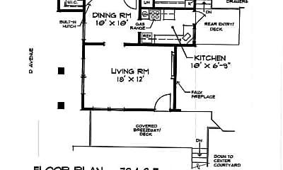 Building, 732 D Ave, 1