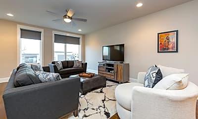 Living Room, 2701 Biloxi Avenue, Unit Townhome 5, 1