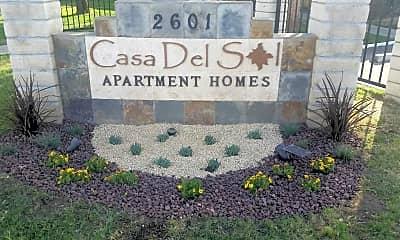 Community Signage, Casa Del Sol, 0