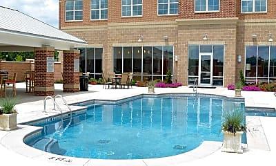 Pool, Lofts at Bass, 1