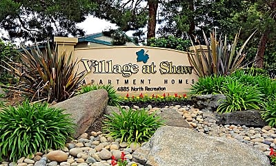 Community Signage, Village at Shaw, 0