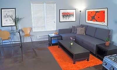 Living Room, River Parks Lofts, 1