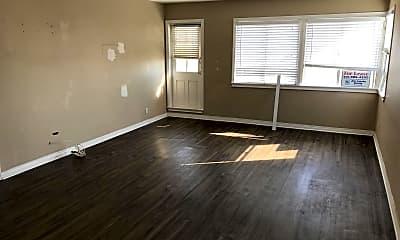 Living Room, 300 E Oceanfront, 1