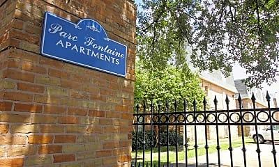 Community Signage, Parc Fontaine, 2
