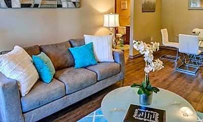 Living Room, Trails at Flat Rock, 1