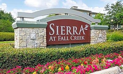Community Signage, Sierra At Fall Creek, 2
