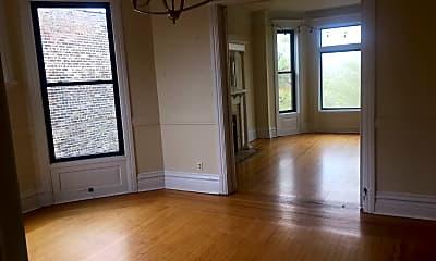 Living Room, 3345 N Seminary Ave #3, 1