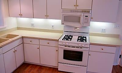 Kitchen, 403 Sherman Apartments, 2