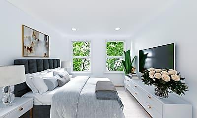 Bedroom, 1232 Beacon Street, Unit 6, 0