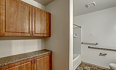 Bathroom, Five Points Senior Apartments, 2