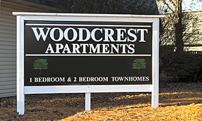 Woodcrest Apartments, 1