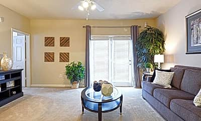 Living Room, Landmark At Cypress Falls, 1