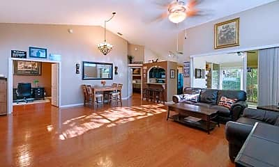 Living Room, 1804 Rosewood Way, 1