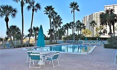 Pool, 1270 Gulf Blvd 1203, 2