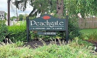 Peachgate Apartments, 1