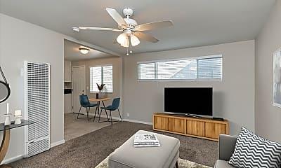 Living Room, 10615 California Ave, 1