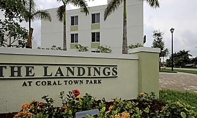 Building, The Landings at Coral Town Park, 1