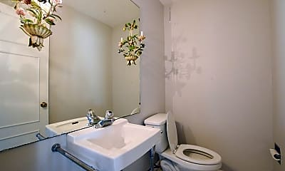 Bathroom, 130 N Center St, 2