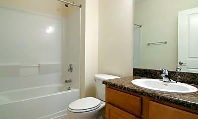 Bathroom, Northwind Apartments, 2