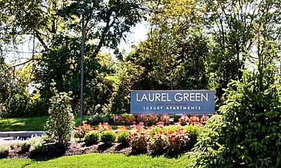 Community Signage, Laurel Green, 2