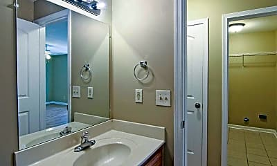 Bathroom, Spring Hill Apartments, 2