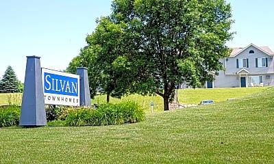 Community Signage, Silvan Townhomes, 2