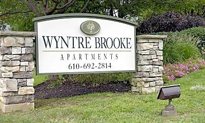 Community Signage, Wyntre Brooke Apartments, 2