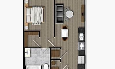 Kitchen, 135 Residence Ln, 1
