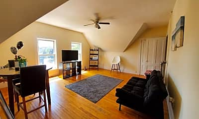 Living Room, 14 Sever St 3, 1