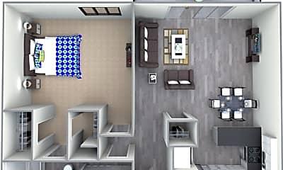 Bathroom, 3124 S Main St, 2