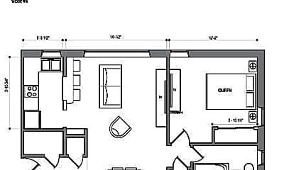 Bathroom, 3421 Dupont Ave S, 2