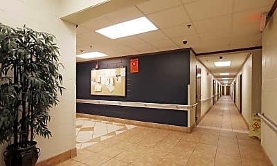 Foyer, Entryway, O.W. Collins, 1