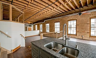 Kitchen, Schurmeier Lofts, 1