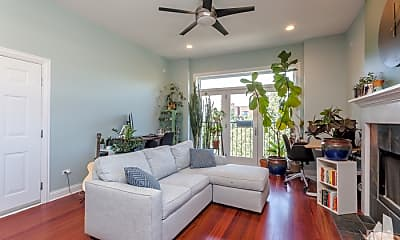 Living Room, 1831 N Fairfield Ave, 2