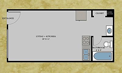 Bathroom, 139 39th St E, 2