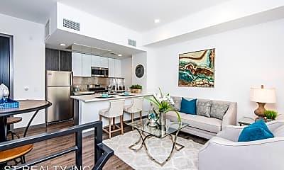 Living Room, 644 N. Hobart Blvd - 8, 1