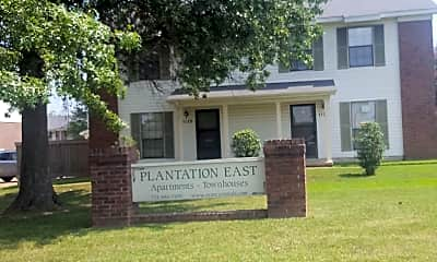 Plantation East Apartments  Townhouses, 1