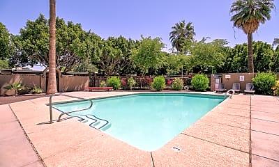 Pool, Greenwood Apartments, 1