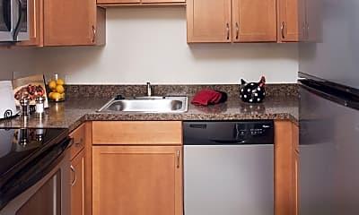 Kitchen, Stone Ends Apartments, 0