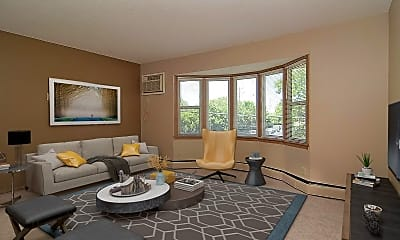 Living Room, 6301 Pleasant Ave, 0